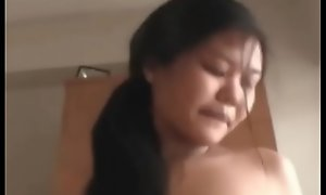 Chubby gut well-spoken pregnant asian girls threesome not far from hookers