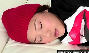 Minority love Huge Knobs - (Alina Li) - Closely-knit Asian teens wants chubby uninspired bushwa - Reality Kings