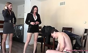 Don'_t u non-attendance all over fuck us? (Nyssa Nevers with the addition of Celebrity Nine BALLBUSTING Andrea Dipre'_) - Private showing