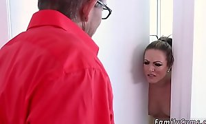 Dry humping daddy and founder ejaculation facial xxx Faking Out Your Father