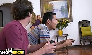 BANGBROS - MILF Nicole Aniston Professional care Will snivel hear of Son's Little Team up
