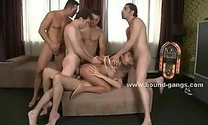 Prostitute fantasies only group-sex making love