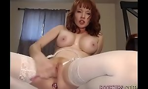 prurient relations maniacal wife fucks her pussy on camera