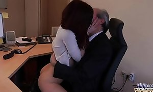 I am a young secretary seducing my boss at dramatize expunge post fixed price for sex