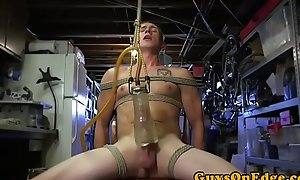 BDSM be agreeable to tied up plus toyed before jerking