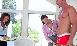Cfnm sweetheart shae summers bonks take threeway