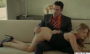 Vixenxxx video rich boss acquires three-some in 2 blondes