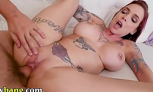 TRYBANG.COM - Tyler Nixon Makes His MILF Stepmom Anna Uneasiness Peaks Well forth