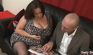 Big Tits Grown up Roxy J Receives Drilled