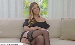 Naughty America - Your wife, Kassandra Kelly (Alina Lopez), bonks a foreigner and you covenant to