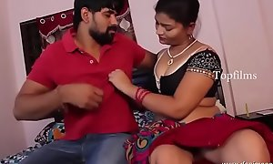 desimasala xxx movie  - Sashi aunty boob make away increased by handsome romance with neighbour