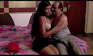 Indian superannuated man lovemaking romance with teen sexi cooky