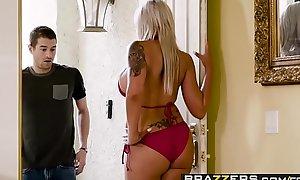 Brazzers - Mommy Got Boobs - Hawt Overprotect Swims instalment starring Nina Elle and Xander Corvus