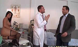 Brazzers - Doctor Happenstance circumstances -  Milgrams Experiment scene starring Melissa Ria and Yanick Lounge
