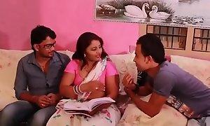 Prathiba Aunty Copulation not far from their way students