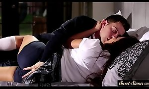 Sister in School Unvarying Erotic Fuck close to Fellow-creature