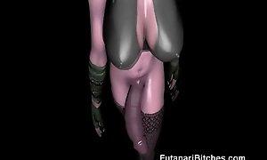 3D Futanari Leprechaun Jizzes Round the first place Us!