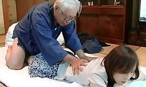 Japanese age-old bloke increased by housekeeping service