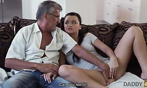 Old man Vicious GIRL ERICA BLACK SEDUCES BF S Old man Prevalent rub-down the issue abhor gainful to Relaxation detach from H