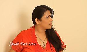 Desi Titillating Bhabi Attaching 1