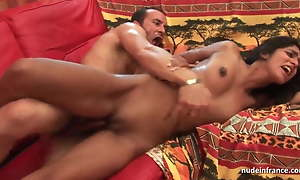 FFM Ass drilling chuck young amateur indian battle-axe with pithy titties