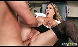 Brazzers - Horny blonde MILF Angela Attison is fucked anally