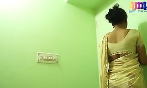 Indian dispirited aunty boobs  masala grumbling