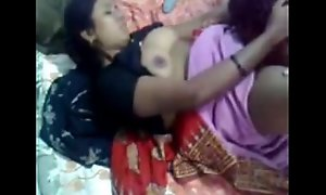 Desi Indian Aunty Drilled at one's disposal Home