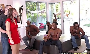 Jubilee Group sex with Sexy Mom Alana Journey