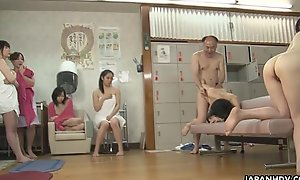 Abb� fucking Asian babes painless in deep shit stops