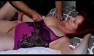 Redhead Full-grown Loves Youthful Dick-Fuck Powered Fit together