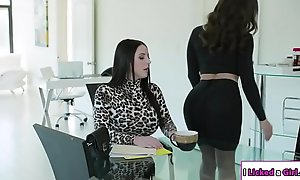 Lesbian boss ass fucked off get a kick from one's mind her transcriber