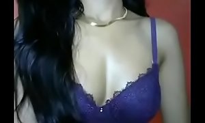 Chap-fallen indian Girl Showing her Bowels on cam