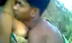 Village young lady screwed throughout over forest