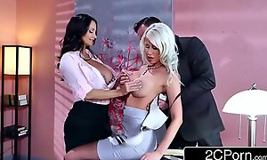 Sexy Triumvirate in the Office - Ava Addams, Riley Jenner