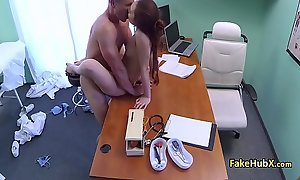 Crumpet enjoyed good fuck with doctor