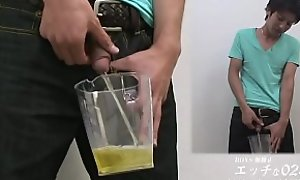 Japanese boy piss
