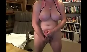Thick Mature Shemale w/ Fat Load of shit and Huge Chest