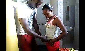 Utter African Amateur Black Couple