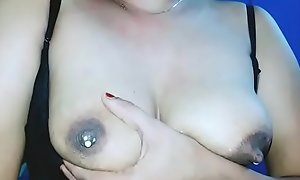 Indian lactating boobs
