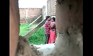 Desi aunty affair with youthful urchin at a secret place