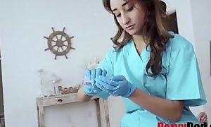 Nurse Young gentleman Helps Cur' Close to His Blue Balls- Isabella Nice