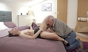 DADDY4K. Nice mollycoddle Ornella Morgen wants anent try sex upon battle-scarred senior