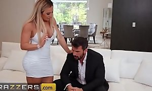 Morose toddler (Amber Jade) takes Manuel's big cock in her ass - Brazzers