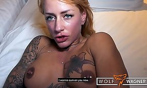 Pretty good German FitxXxSandy lets modern-day Tarzan cum on her big fake tits! ▁▃▅▆ WOLF WAGNER Have a crush on ▆▅▃▁ wolfwagner.love