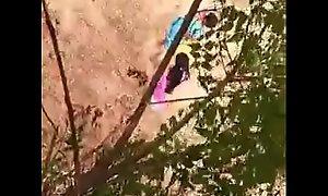 Desi girl pissing voyeur