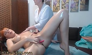 Homophile Redhead gets Oiled and Massaged
