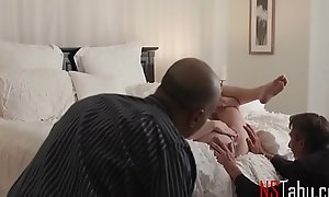 Shush Watches, While Wifey Gets Pounded By Stranger- Lacy Lennon