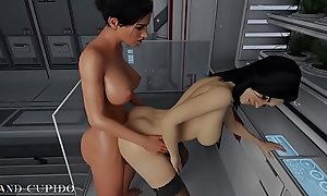 Miranda takes a sexy Futa learn of relative to their way Pussy