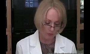 Full-grown Medical Exam Lay waste From Doctor MILF